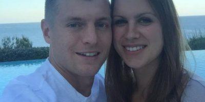 El alemán Toni Kroos de vacaciones junto a su esposa Foto:Vía twitter.com/tonikroos