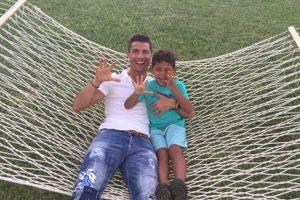 Cristiano Jr recién cumplió cinco años y es la inspiración del futbolista y adoración de sus fans. Foto:Vía instagram.com/cristiano