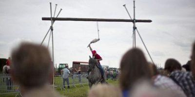 7. Corridas de gansos Foto:Derecho animal