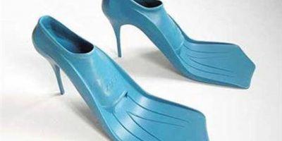 11. Estos zapatos de aleta de buzo. Foto:vía Imgur