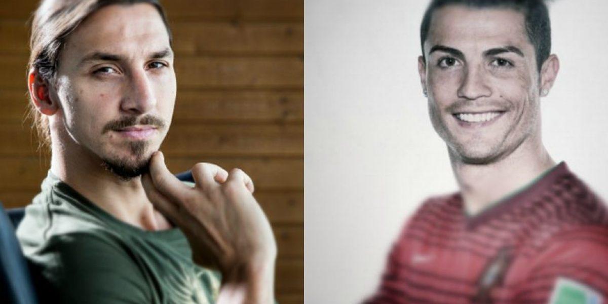 Zlatan vs. Cristiano: Nueva guerra, ahora con sus perfumes