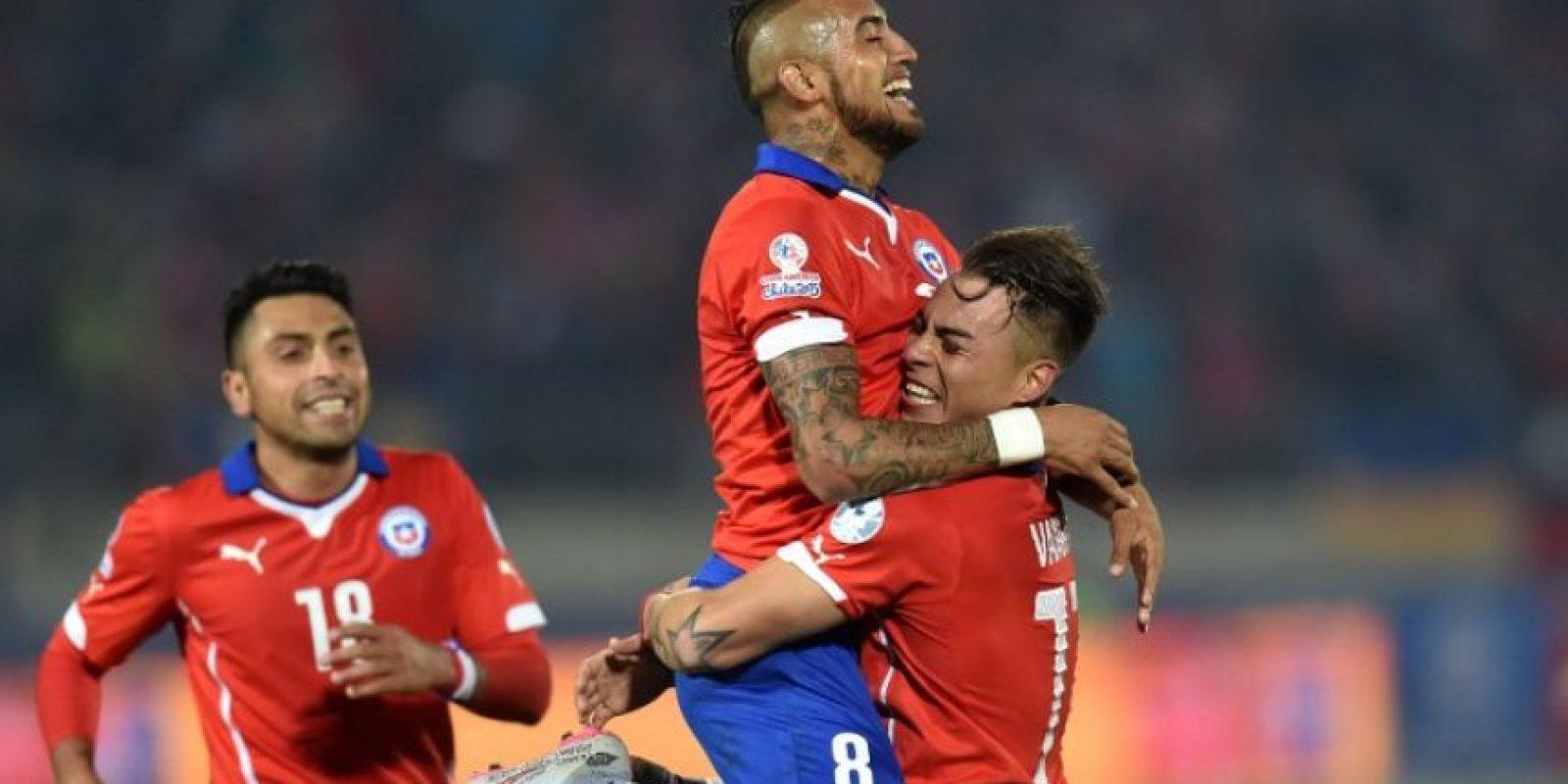 """La """"Roja"""" no ha caído en el torneo Foto:AFP"""