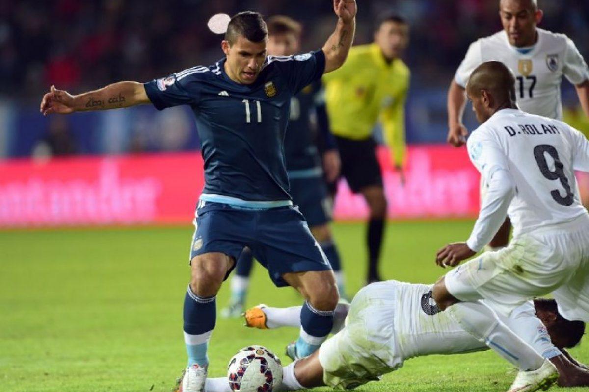 Vencieron a Uruguay por la mínima diferencia Foto:AFP