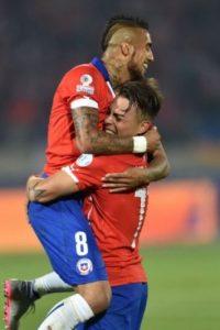 """La """"Roja"""", como líder del Grupo A, se mide al mejor tercer lugar del Grupo B o C. Foto:AFP"""