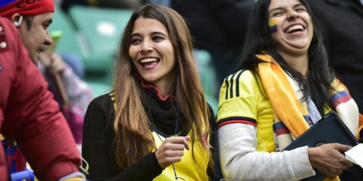 FOTOS: Las aficionadas más lindas del partido Colombia vs. Perú