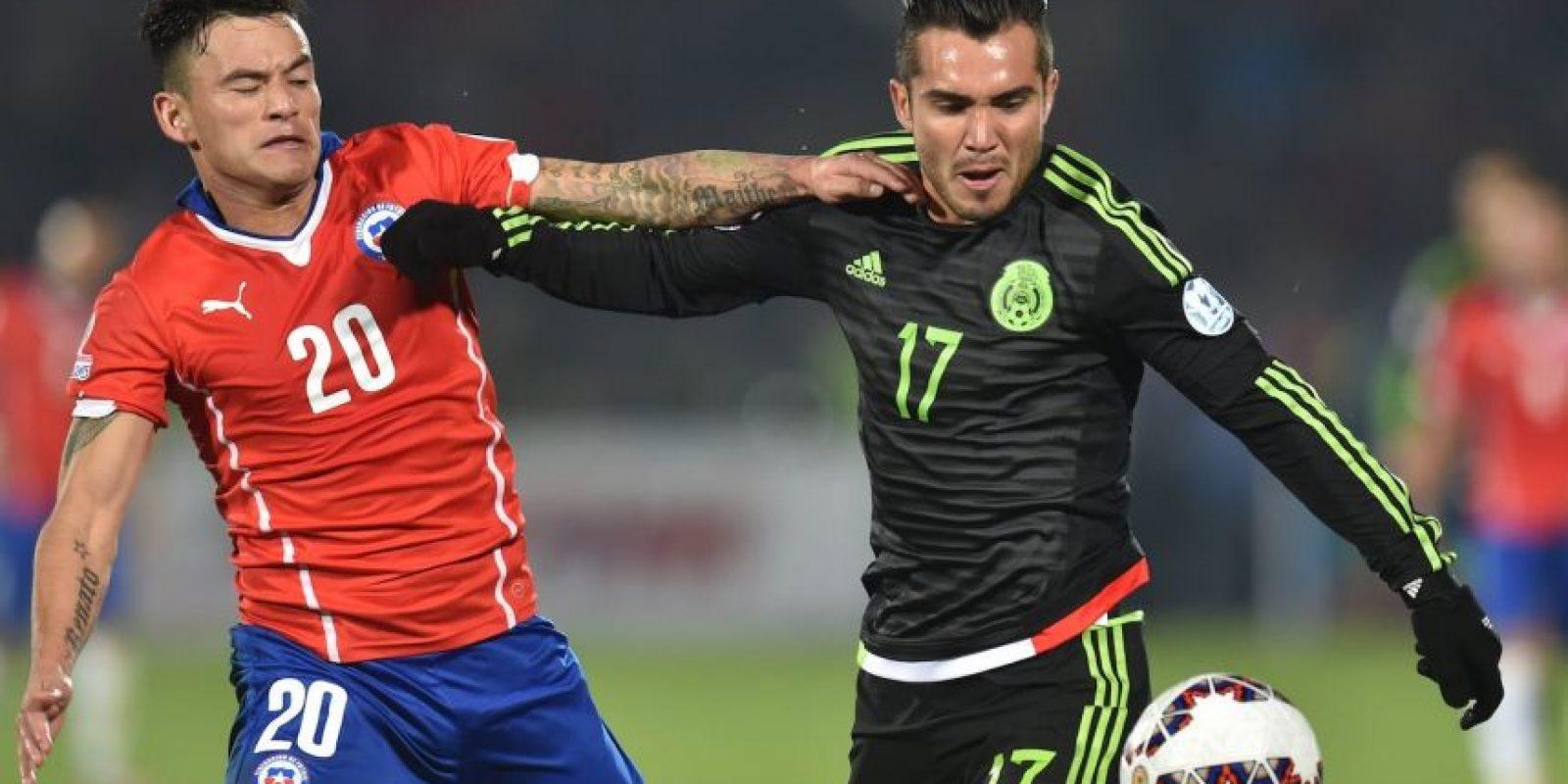 El portal de la Copa América lo describe como el mediocampista más desequilibrante del torneo Foto:AFP