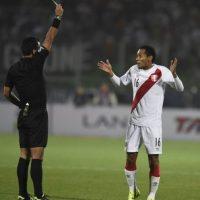 """La """"Bicolor"""" lo extrañará en los cuartos de final, por la intensidad que le dio al combinado de Ricardo Gareca Foto:Getty Images"""