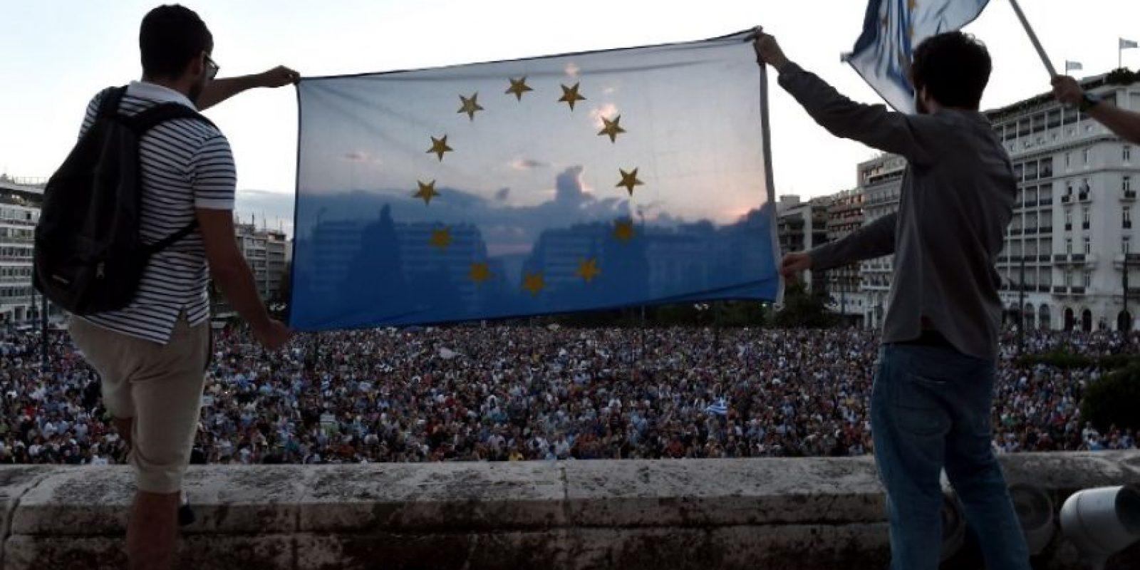 """""""Lo que sucede en Grecia puede tener consecuencias impredecibles en términos de costos políticos, económicos, sociales"""", responde Rosales. Foto:AFP"""