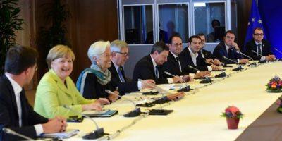 La reunión en Bruselas Foto:AFP