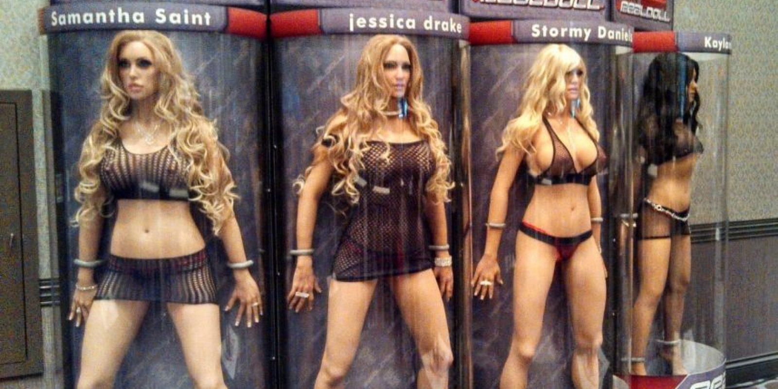 Se espera que en 2017 estén disponibles las muñecas de silicona robóticas Foto:Facebook.com/abysscreations/photos