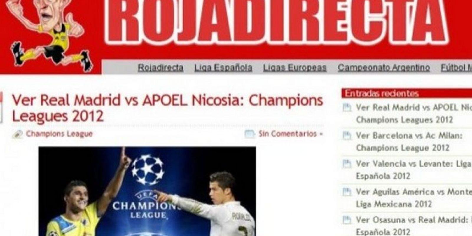 En Rojadirecta se pueden observar partidos de la Liga española, la Premier League, Bundesliga, UEFA Champions League, entre otros eventos más. Foto:Rojadirecta
