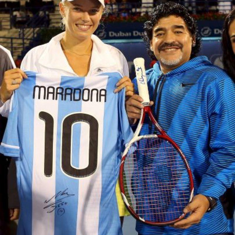Tras el Mundial, Maradona dejó el puesto de seleccionador nacional. Foto:Getty Images