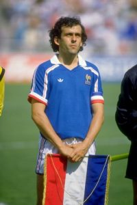 8. Michel Platini Foto: Getty Images