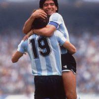 Su consagración llegó en 1986, en el Mundial de México. Foto:Getty Images