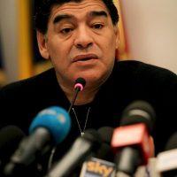 """Sin embargo, parece que la alianza """"Al Hussein-Maradona"""" se rompería, pues en Argentina aseguran que el """"10"""" lanzaría su propia candidatura. Foto:Getty Images"""