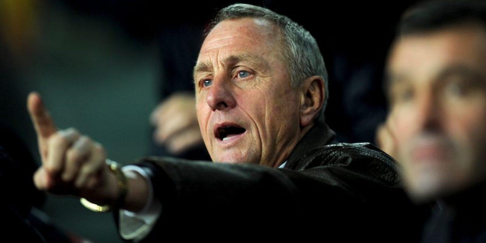 Fue asesor deportivo del Ajax de Holanda y Guadalajara de México, y presidente de honor del Barcelona. Foto:Getty Images