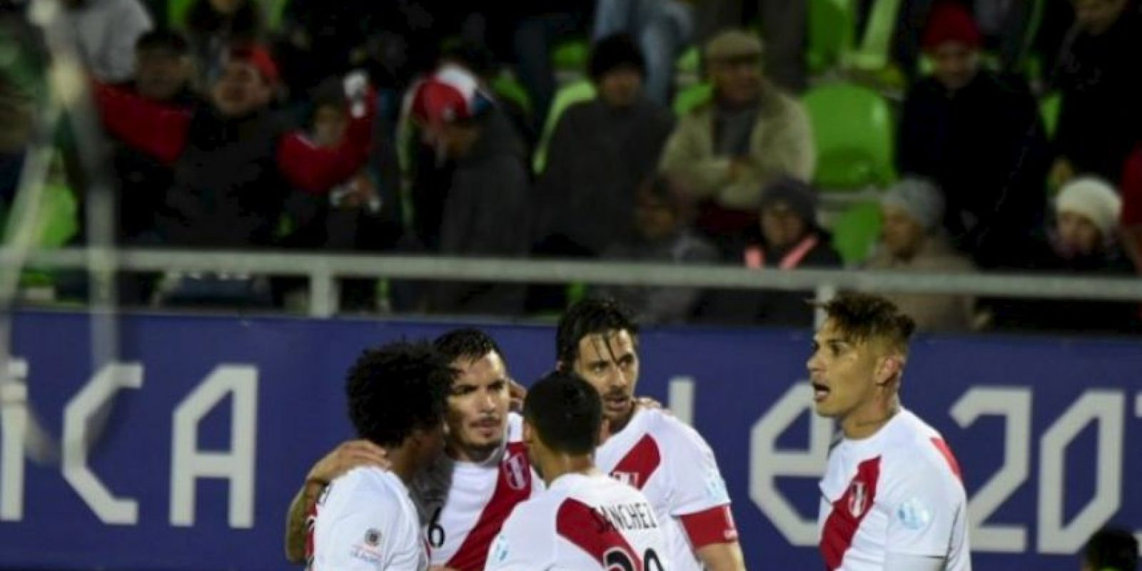 Los peruanos fueron segundos del Grupo C Foto:AFP