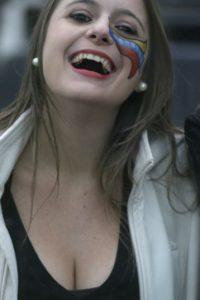La sonrisa de esta venezola cautivó a más de uno
