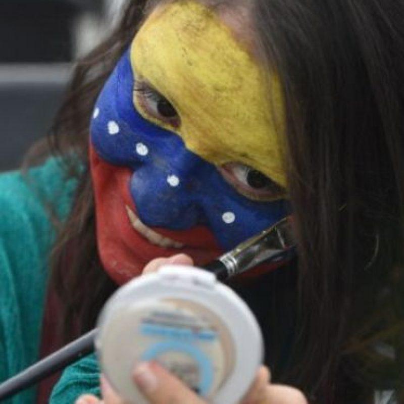 Otra bella venezolana Foto:AFP