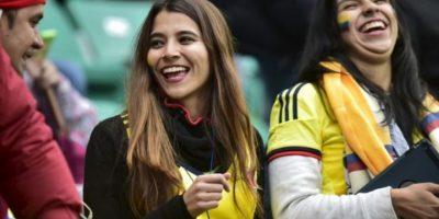 Las colombianas no se quedaron atrás Foto:AFP