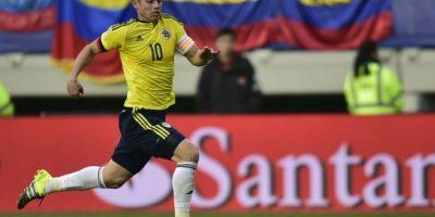 8. James Rodríguez Foto:AFP