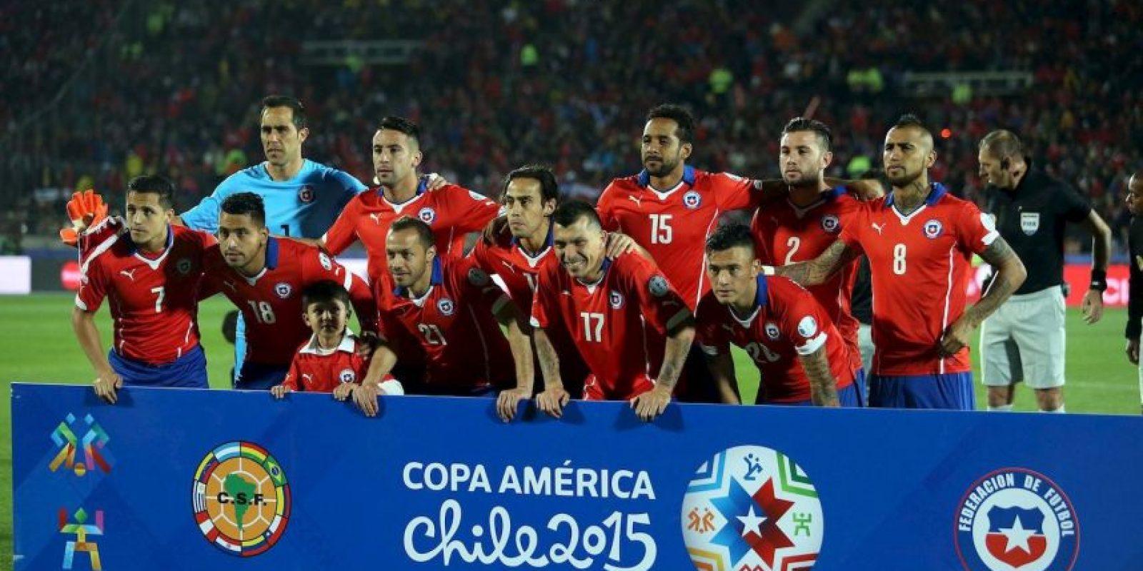 Así quedaron las llaves de cuartos de final: Foto:Vía .facebook.com/SeleccionChilena