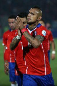 Arturo Vidal (Chile) Foto:Getty Images