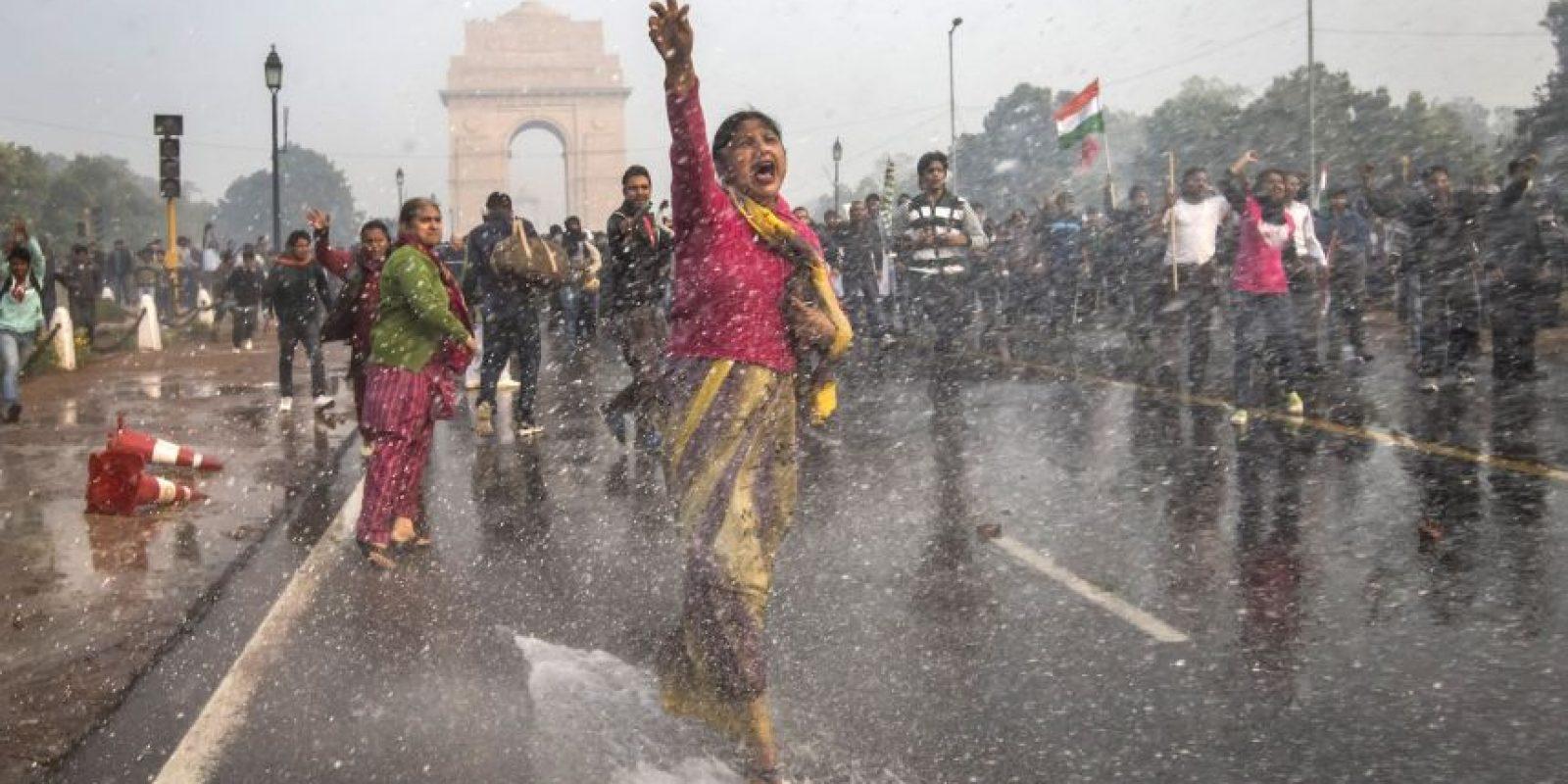1. Nueva Delhi, en India, con 153 ug/m3 promedio al año. Foto:Getty Images