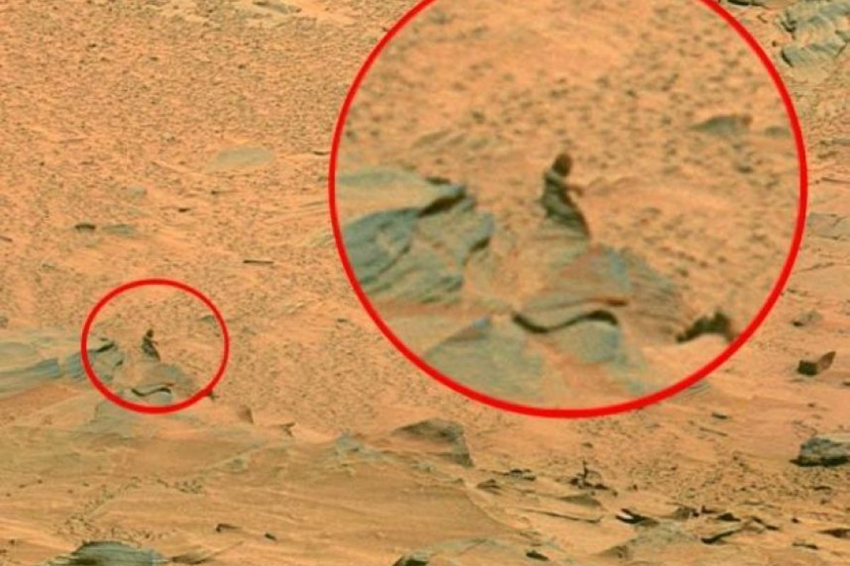 1. Una mujer Foto:NASA
