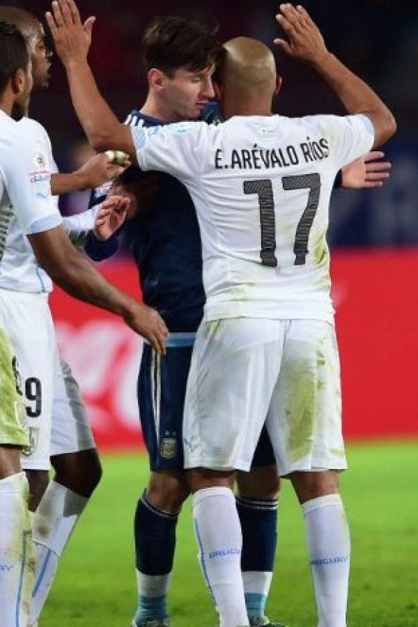 """""""Siempre que jugamos con el anfitrión, lo dejamos fuera"""", indicó cuando se enteró que enfretarían a Chile en cuartos de final Foto:AFP"""