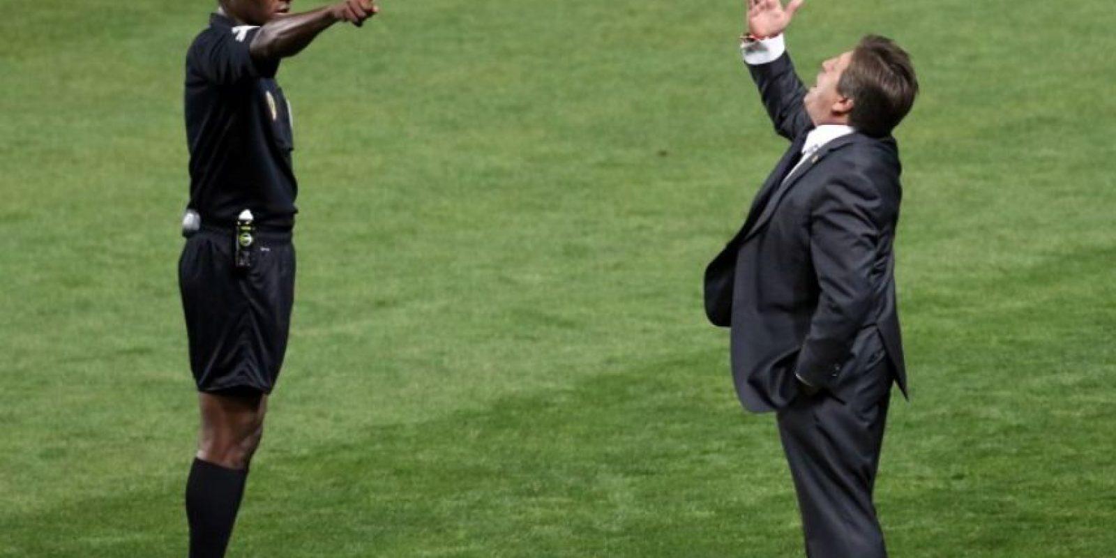 Fue duramente criticado por el fracaso de la selección de México Foto:AFP
