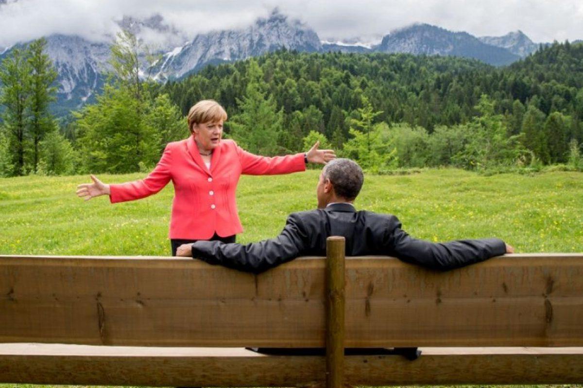 Durante julio de 2014 se dio a conocer que el gobierno de Barack Obama también espió a la canciller Alemania, Angela Merkel. En ese momento, las relaciones se tornaron complicadas entre la nación de las barras y las estrellas y uno de sus más importantes aliados en Europa. Foto:vía AFP