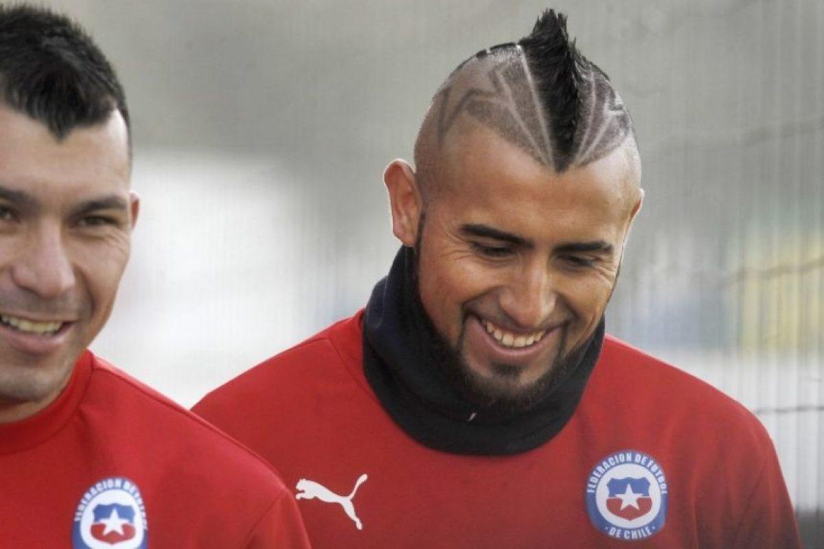El DT de la selección de Chile, Jorge Sampaoli, no sancionó a Vidal Foto:AFP