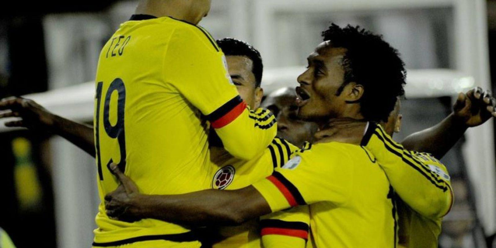 3. Colombia Foto:Vía facebook.com/FCFSeleccionColPage