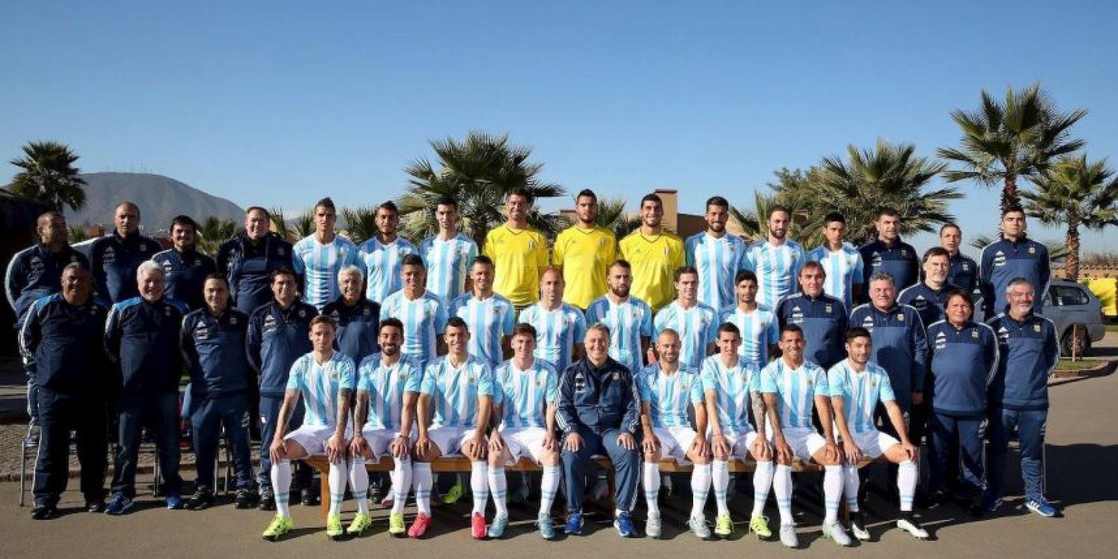 4. Argentina Foto:Vía facebook.com/AFASeleccionArgentina