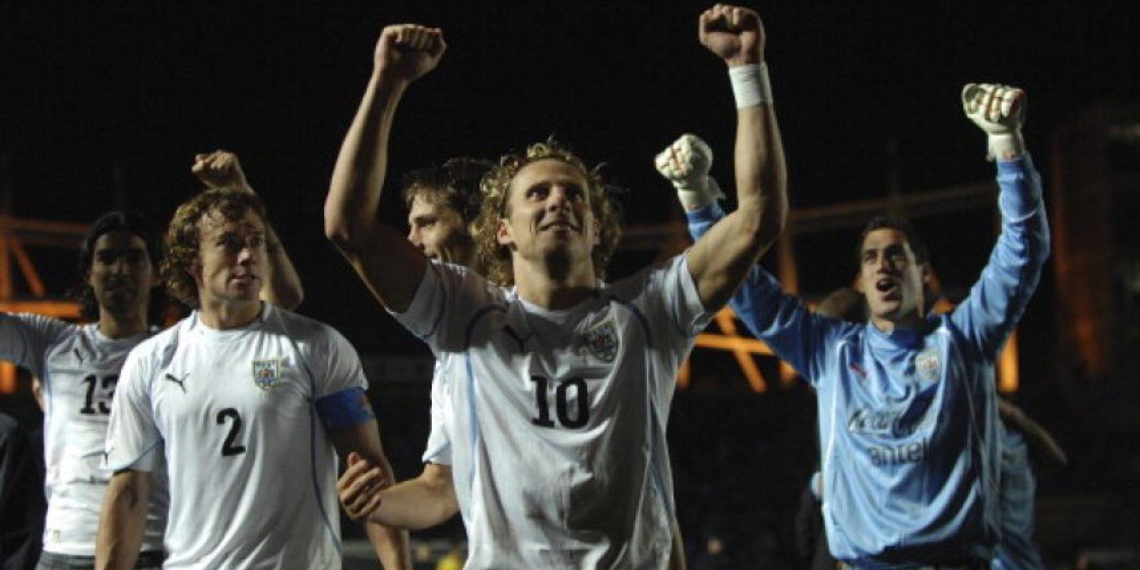 En 2011, Uruguay venció a Argentina en penales en cuartos de final. Foto:Getty Images