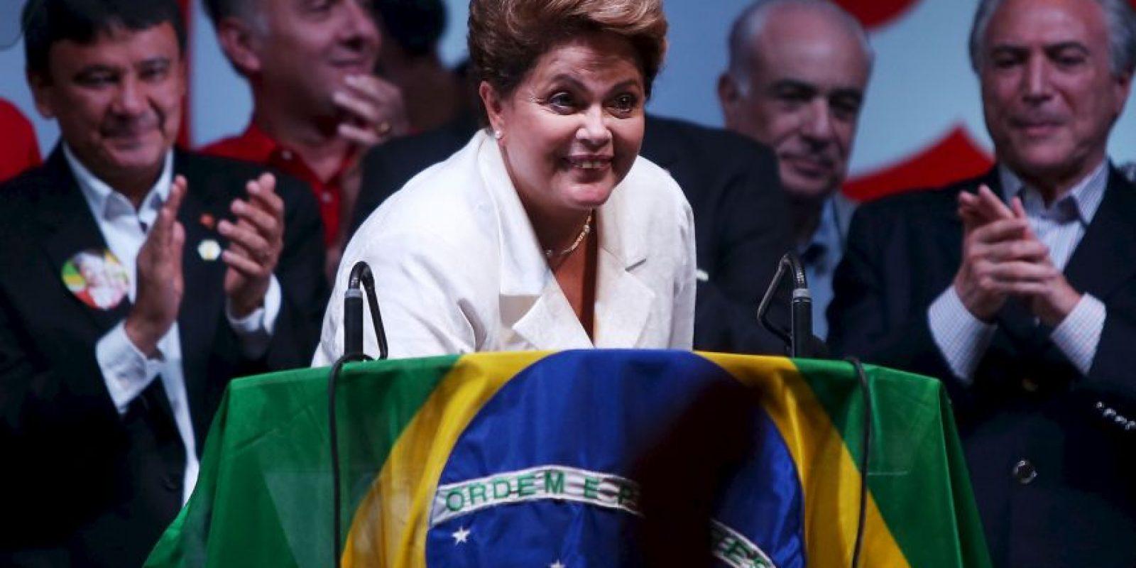 La presidenta de Brasil mostró en el pasado su malestar ante la posibilidad de que su teléfono hubiera sido interceptado. Foto:Getty Images