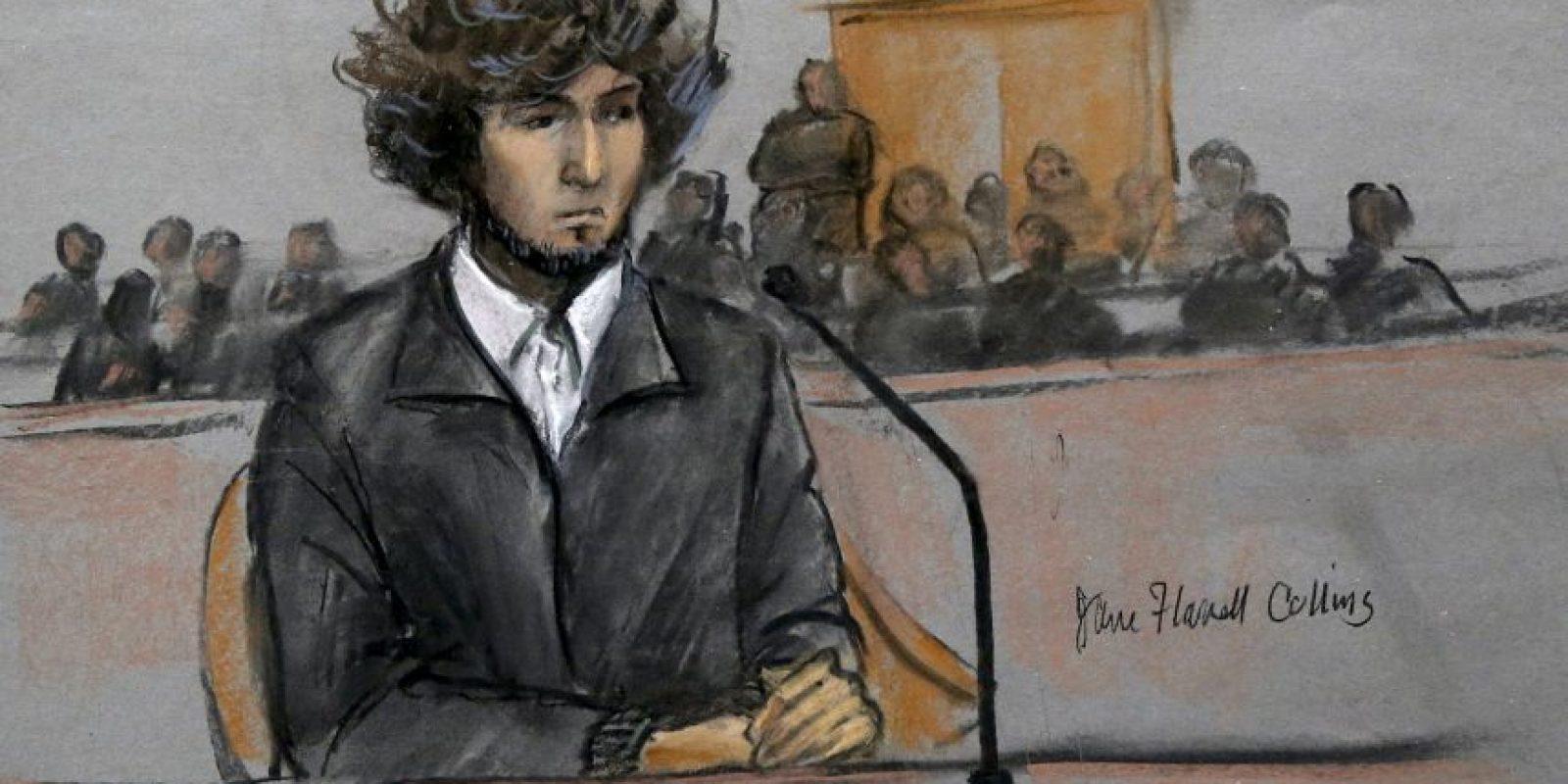 Dzhokhar Tsarnaev recibirá pena de muerte. Foto:AP