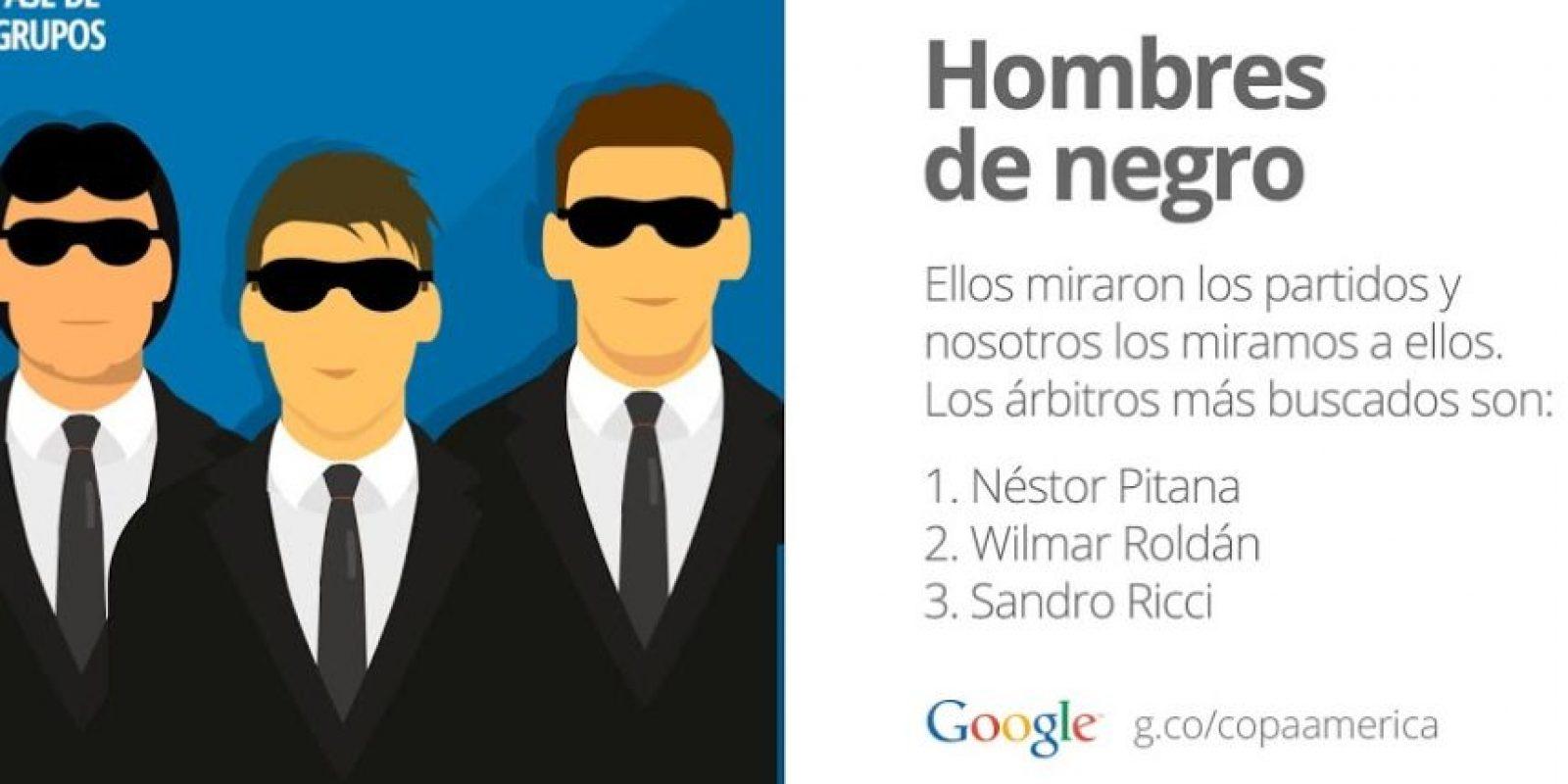 Los árbitros: Foto:Google