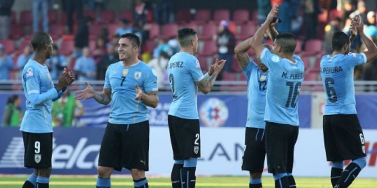 2) Uruguay. Foto:Getty Images
