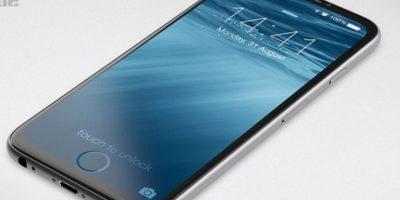 Computer-Bild también señala que Apple podría prescindir de un botón de inicio y funciones como el Touch-ID, para realizar pagos o desbloquear el celular con la huella dactilar, se encontraría en la misma pantalla. Foto:Tumblr