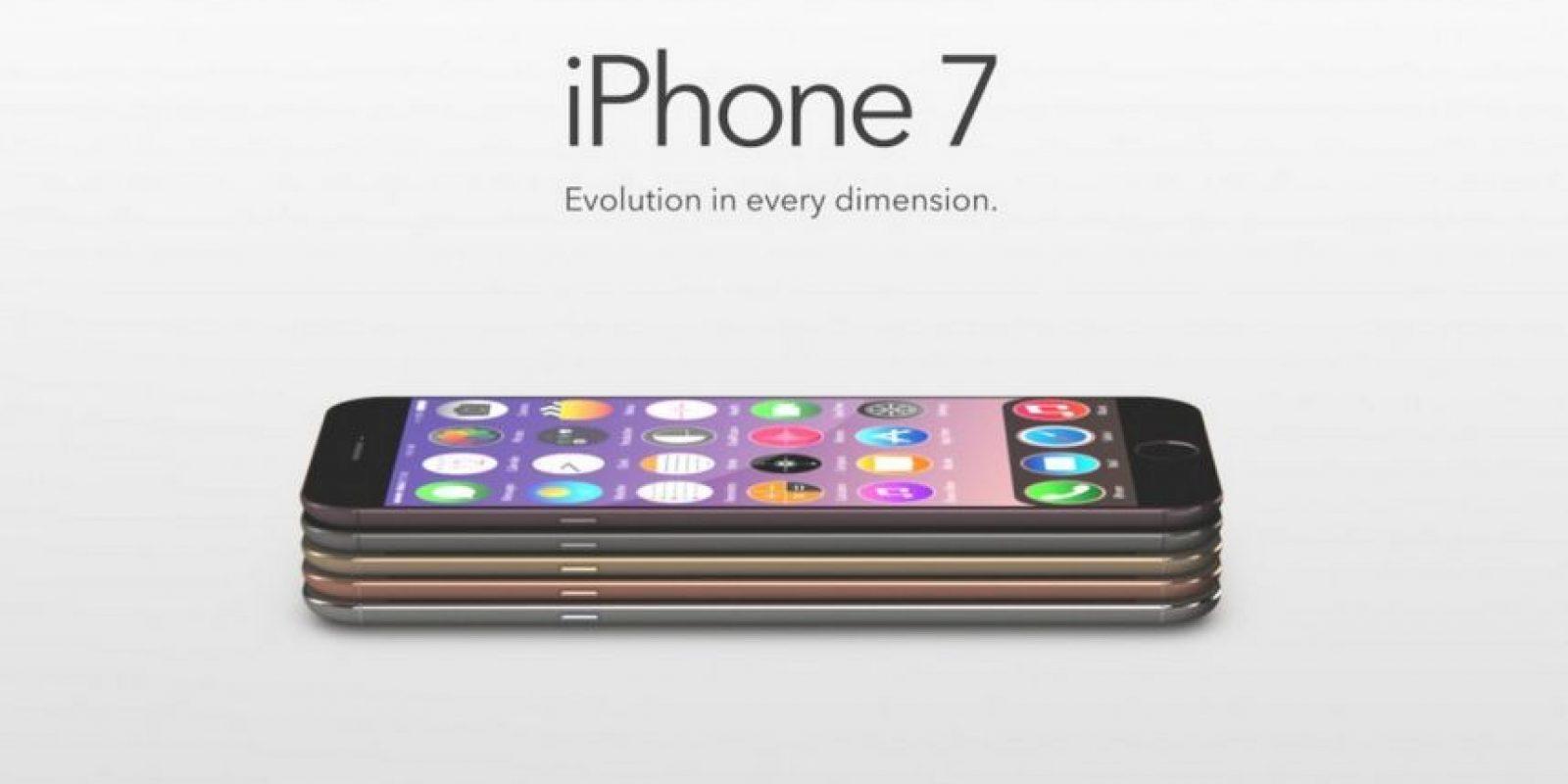 iPhone 7, el nombre tentativo del próximo smartphone de Apple. Foto:Tumblr