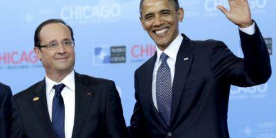 Es el actual presidente de Francia Foto:Getty Images