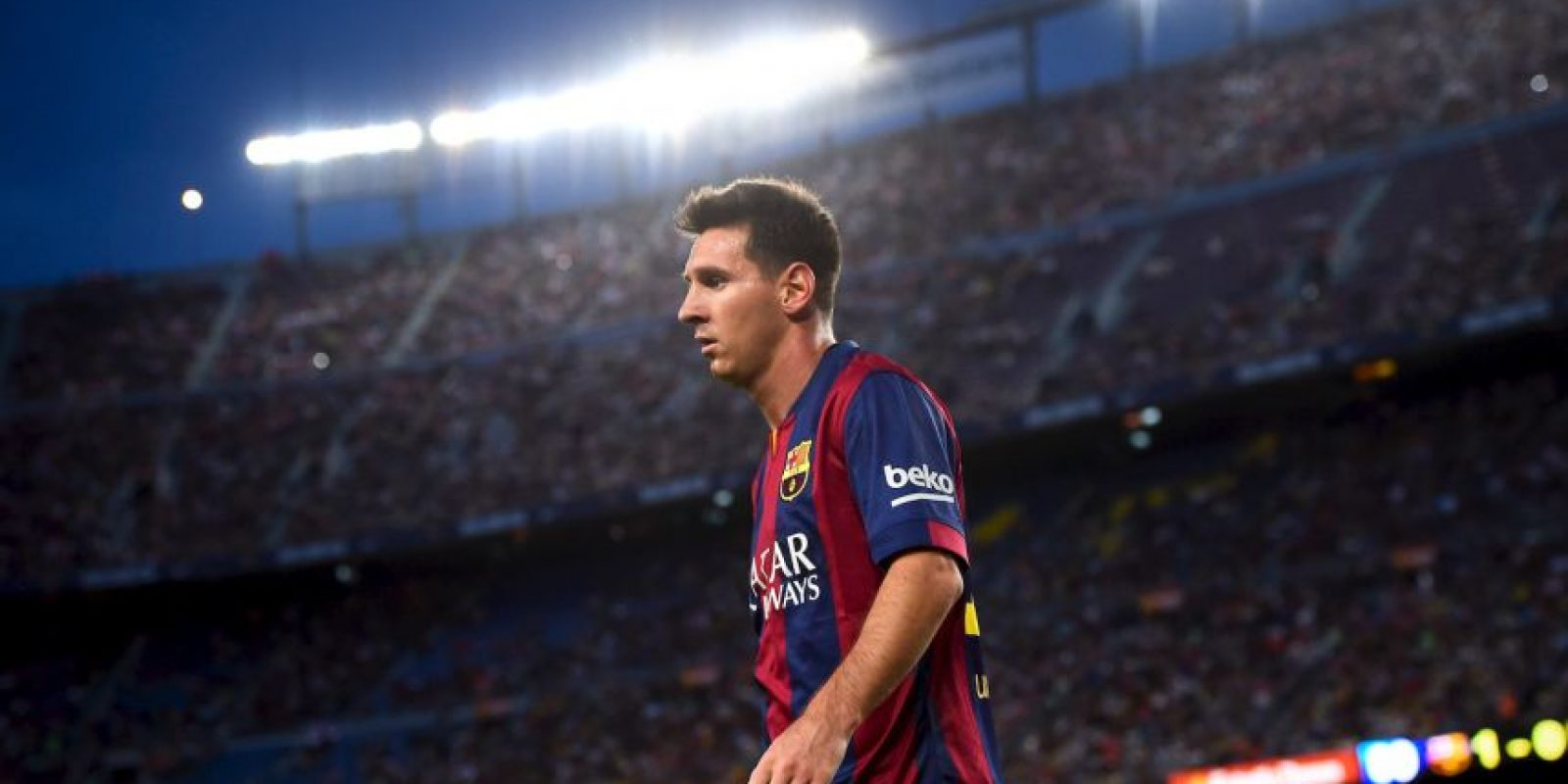 """Hasta el momento, la """"Pulga"""" tiene 7 ligas de España, 3 Copas del Rey y 6 Supercopas de España. Foto:Getty Images"""