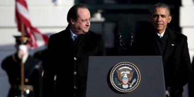 Según el periódico español El País, en 2014 Barack Obama aseguró a Hollande que las labores de espionaje por parte de la NSA había concluido. Foto:Getty Images