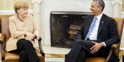 La canciller de Alemania fue espiada por la NSA, según se reveló en 2013. Foto:Getty Images