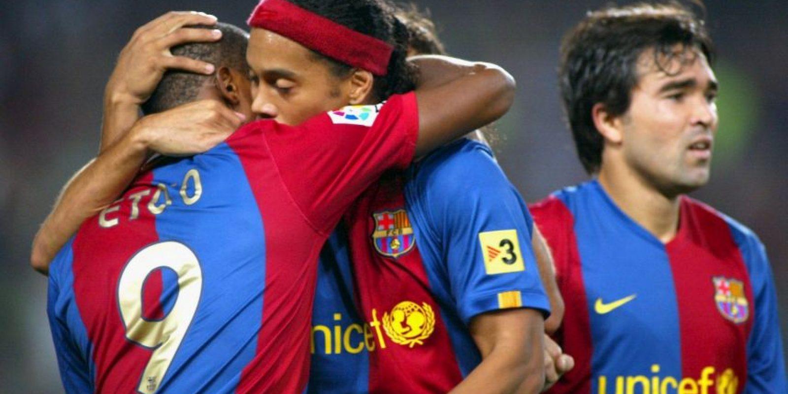 Fueron piezas fundamentales en el Barça de Frank Rijkaard que ganó la Champions League de 2006. Foto:Getty Images