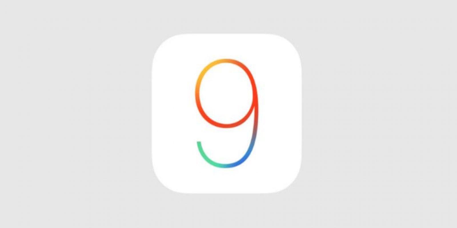 iOS 9 para iPhone es el nuevo sistema operativo de la compañía para los dispositivos móviles Foto:Apple