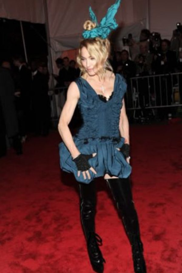 Madonna en Louis Vuitton 2011. Foto: vía Getty Images