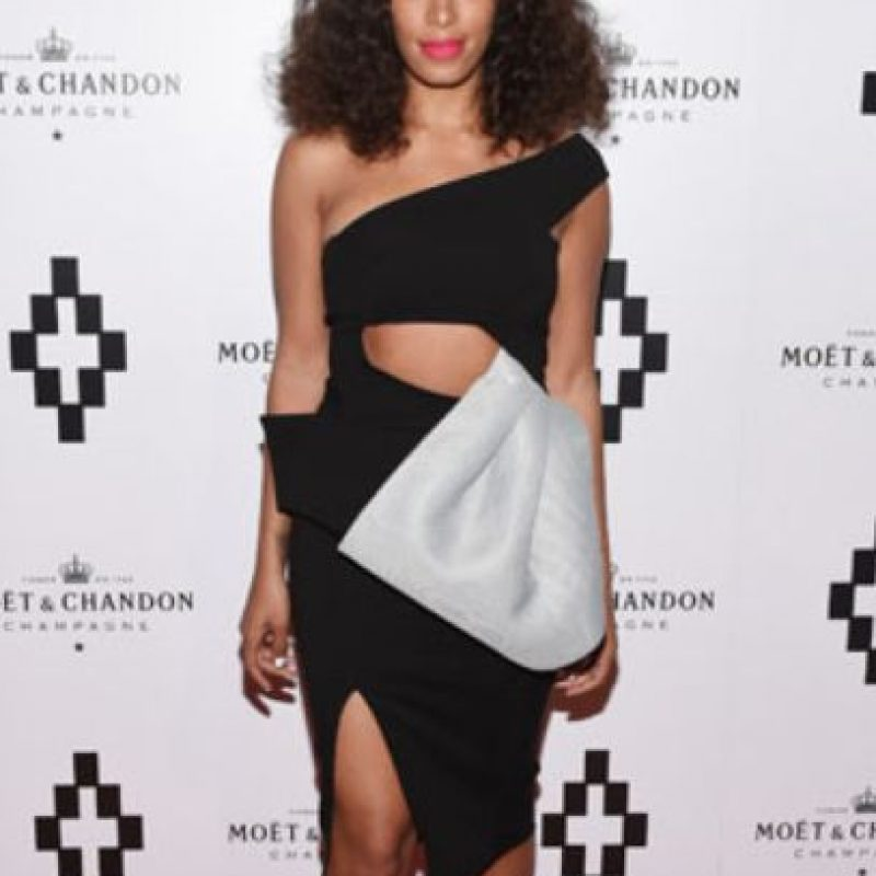 Solange Knowles en Maticevski. Foto: vía Getty Images